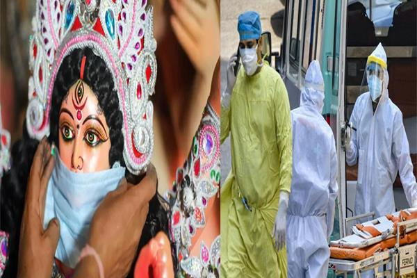 corona cases high in delhi amid festive weather