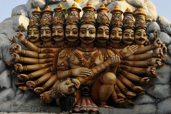 ravana is worshiped in the city of shri krishna