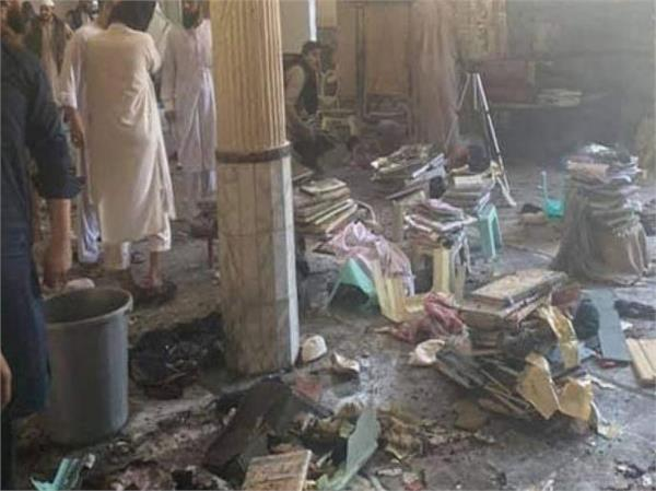 pakistan seven killed 70 injured in blast at peshawar madrasa