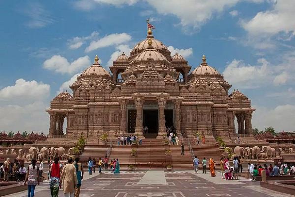 delhi akshardham temple open on october 13