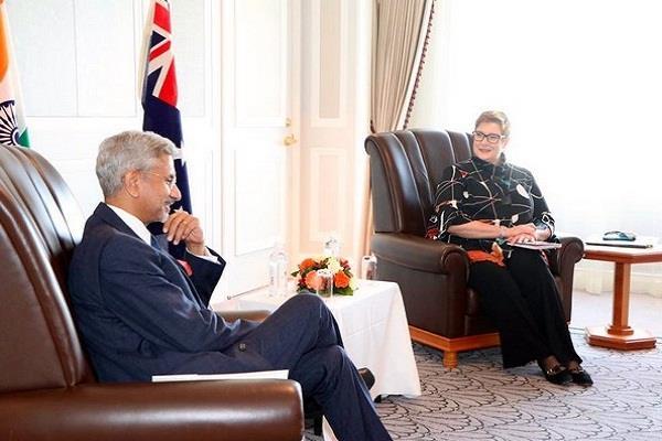 s jaishankar meets foreign ministers of japan and australia