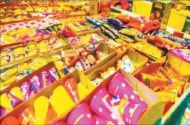 green firecrackers due to increasing pollution noise and smoke also reduced