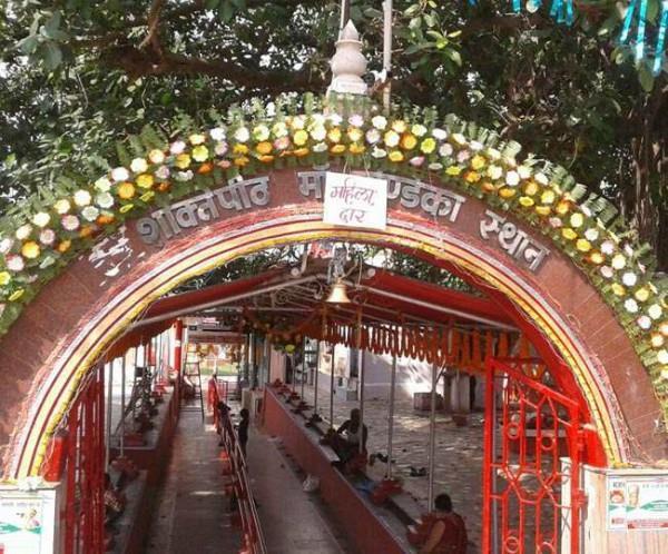 chandika temple worships one eye of maa sati