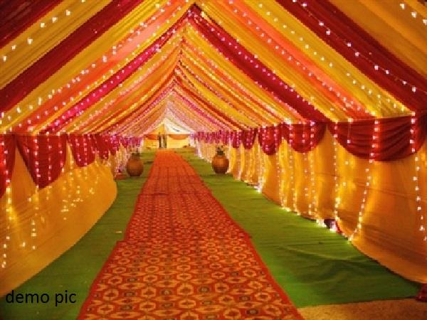 daughter s wedding then taking 3 lakh tents cheated