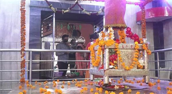 prayagraj preparation of navratri in full swing in shaktipeeth