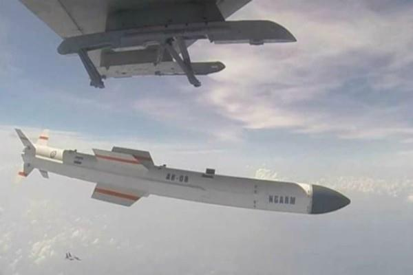 successful test of anti radiation indigenous missile rudram