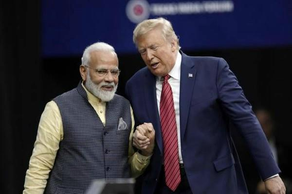 corona virus pm modi tweet for trump get well soon