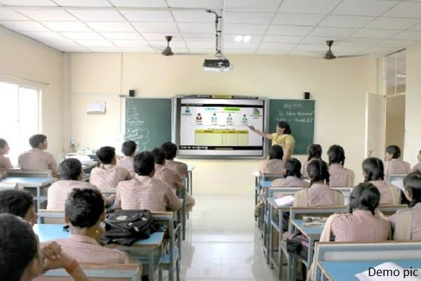 classes of students of 10th and 12th will be started regularly from today
