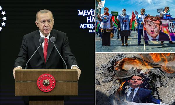charlie hebdo cartoon of president erdogan sparks fury in turkey