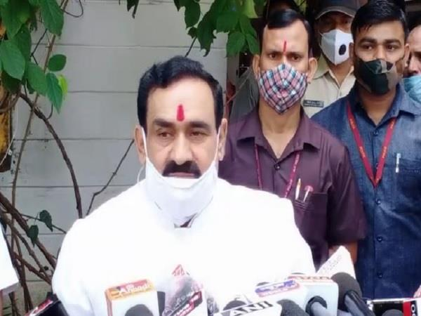 narottam mishra attacked kamal nath