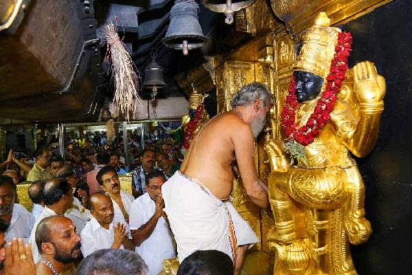 the court of the sabarimala temple opened after six months