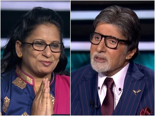 केबीसी 12: अमिताभ ने की सिंगल मदर स्वरूपा देशपांडे की तारीफ, बेटी के लिए बढ़ाया मदद का हाथ