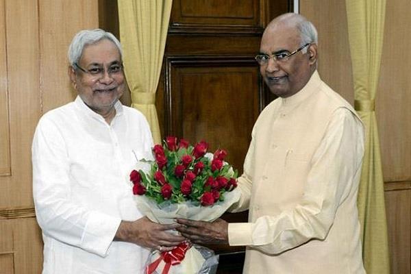 fagu chauhan and nitish kumar congratulate ramnath kovind on his birthday