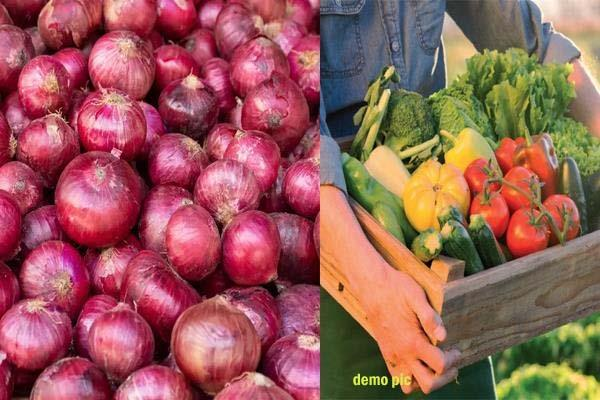 onion high prices vegetable rates also high