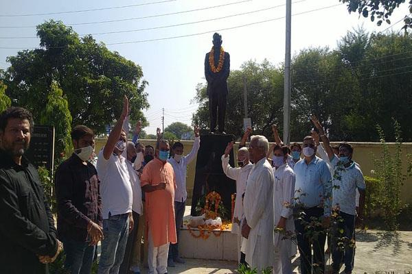 tributepaid to martyr brigadier rajinder singh