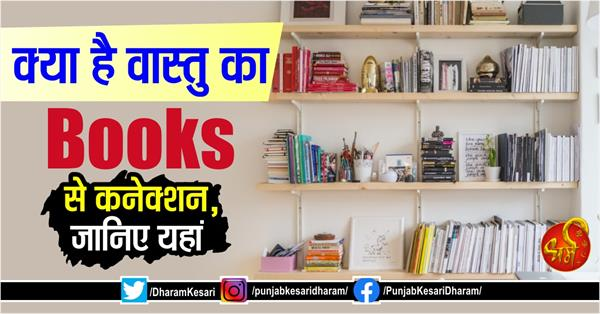 according to vastu what is the connection of book shelf and direction