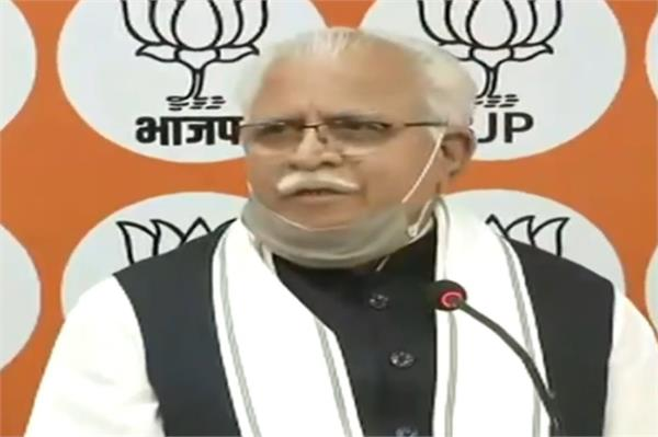congress did not do anything in baroda in 54 years cm khattar