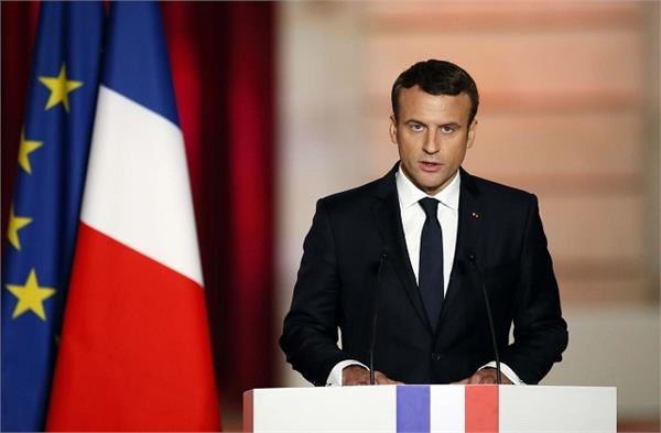 president macron declares  france will not lose from islamic attacks