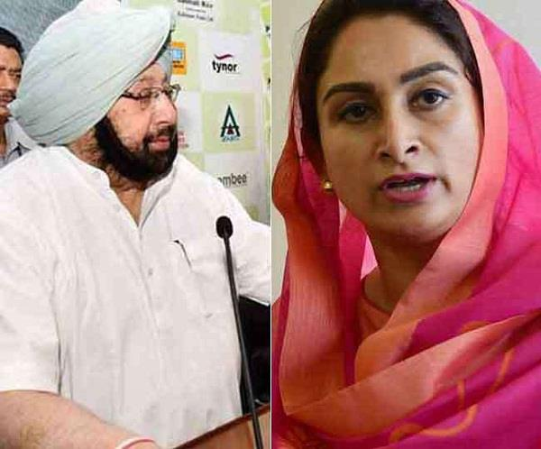 hasrsimrat badal speak against captain amarinder