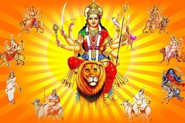 navratri the festival of worship of mother durga starting tomorrow