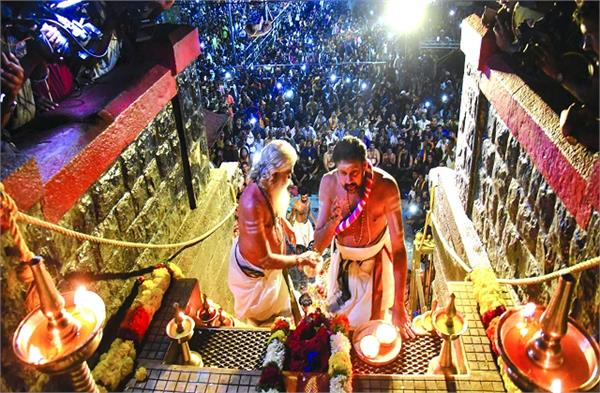 a thousand devotees will be able to visit ayyappa temple every day