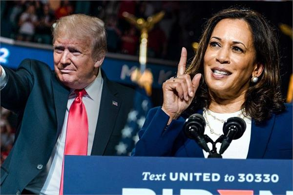 kamala harris first debate will not take the vaccine at the behest of trump
