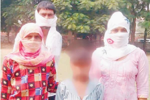 young man misbehaves with 10 year old child accused absconds from the spot