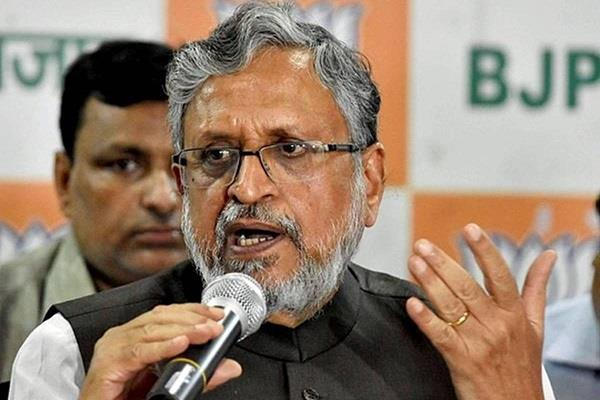 sushil modi s stance  neither lalu gets bail nor will rjd get power