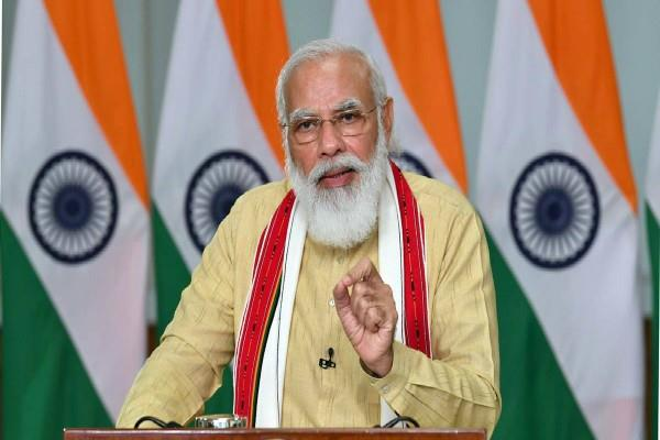 pm modi will address the country at 6 pm today