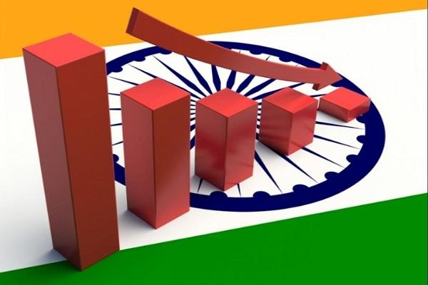 india gdp to decline 9 poinr 6 percent in current fiscal year