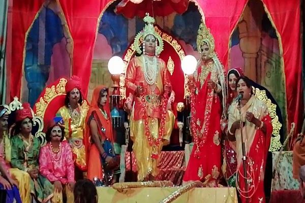 ramlila of balrampur muslim ruler ali khan donated land for leela