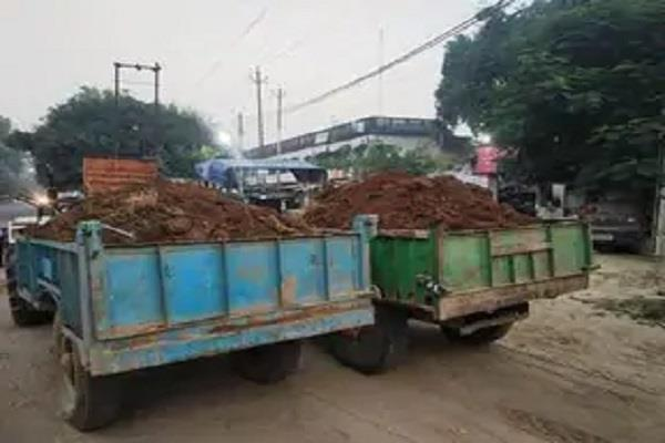 8 mining cases registered mining filled tractor recovered