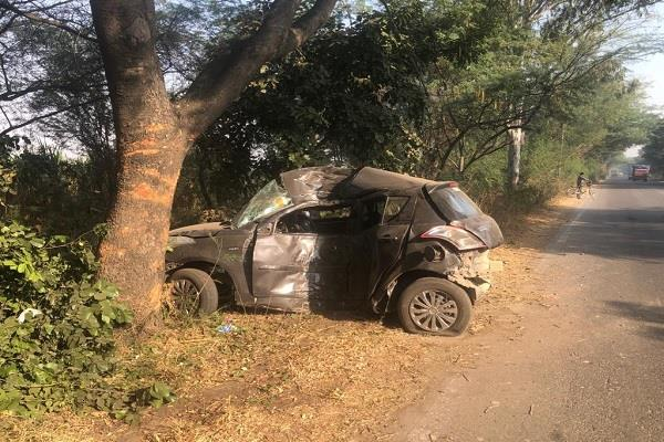 youth dies in road accident second seriously injured