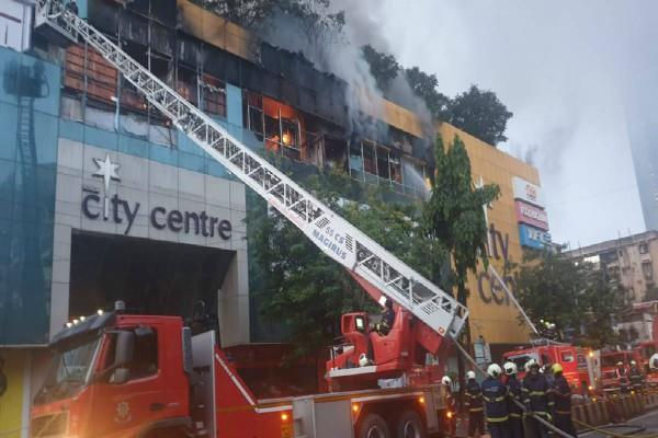 mumbai fire in mall was extinguished after 56 hours