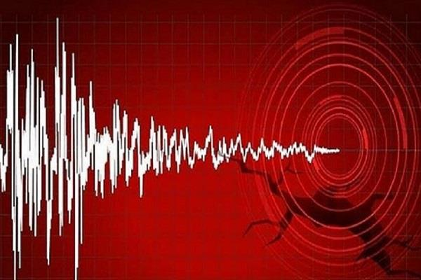 earthquake shaken by earthquake tremors