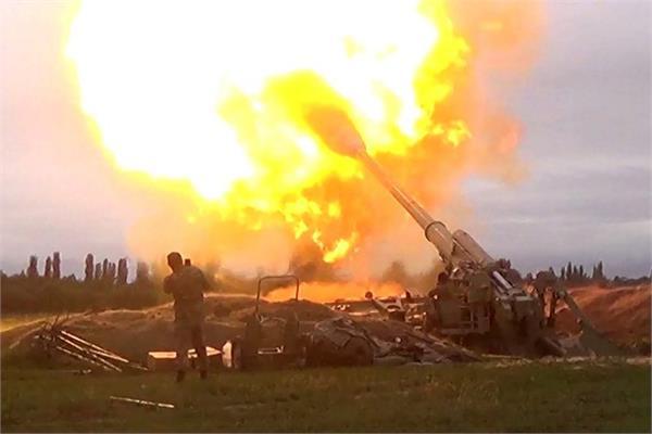 armenia azerbaijan clash cannons firing world tension increased