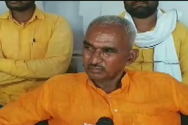 bjp mla surendra singh faces heavy support for accused in ballia case