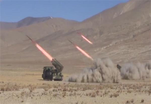 pla held live missiles fire exercises near indian border watch video