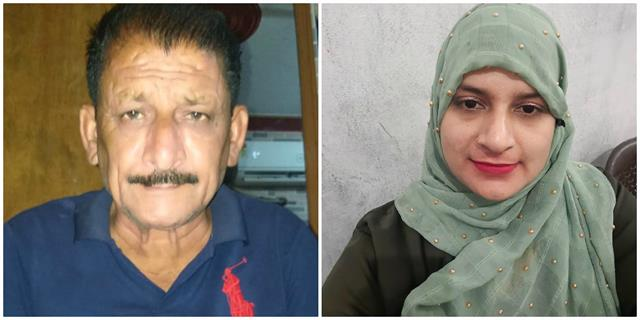 double murder father and daughter killed with sharp weapons