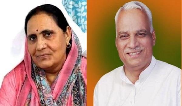late mla s wife got ticket from bulandshahr seat