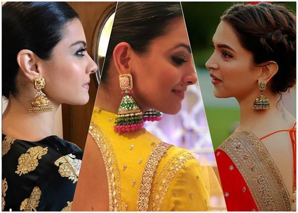 Fashion Trend! ईयररिंग्स लवर्स ट्राई करें एक्ट्रेस के लेटेस्ट झूमका डिजाइन्स