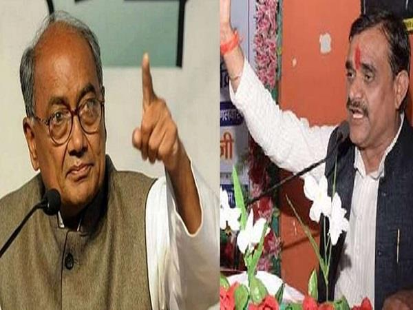 digvijay singh is the country s largest jayachand  vd sharma