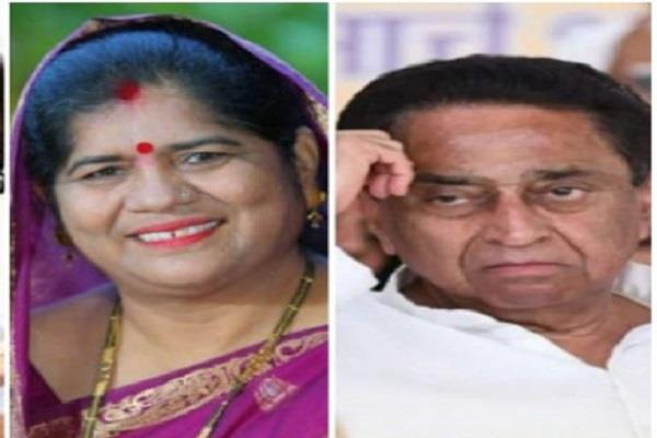 kamal nath badly trapped by commenting on imrati devi