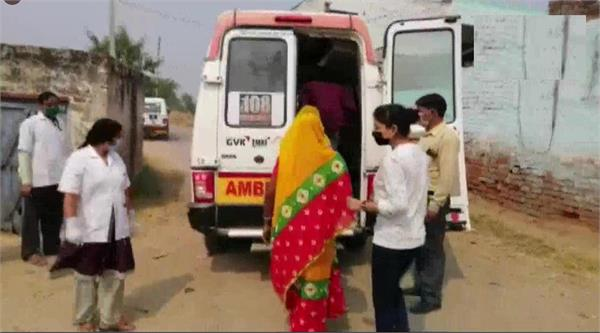 hathras scandal mother s health deteriorates after victim s father