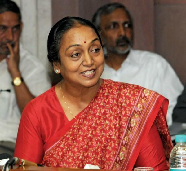 facebook page block of former lok sabha speaker meira kumar