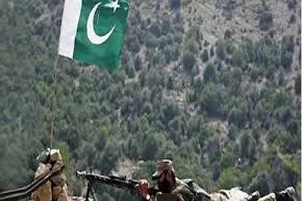 pakistani army shells forward areas along loc in jammu and kashmir