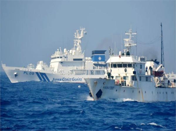 japan coast guard issues warning to china patrol ships