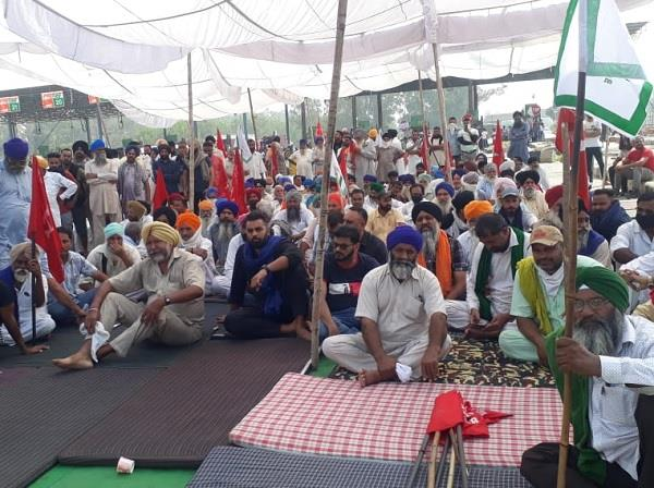 farmers protest against agricultural law