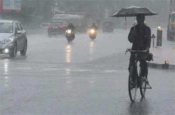 26 year record of broken temperature in delhi rain in many states today