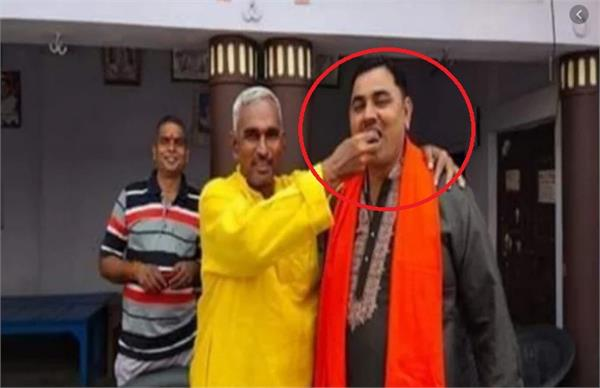 ballia case main accused brother arrested bjp mla favor of accused
